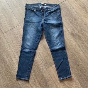 Levi's skinny jeans 711 blue size 32 low rise